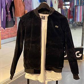 Мужская куртка бомбер Lacoste (Черный)