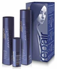 Набор для восстановления волос Estel Luxury Repair Haute Couture  (шампунь, бальзам, эликсир) 300/250/50 мл.