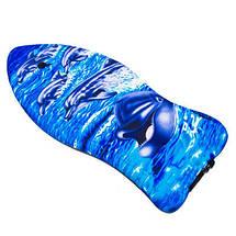"""Дошка для плавання EVA 37"""" Bodyboard (94*47*5см). Кольору з принтами в асортименті, фото 2"""
