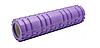 Масажний валик (ролик) для йоги та фітнесу / Пінний масажний рол, кольори рожевий, синій, червоний, фото 2