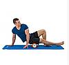 Масажний валик (ролик) для йоги та фітнесу / Пінний масажний рол, кольори рожевий, синій, червоний, фото 4