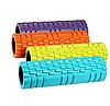 Масажний валик (ролик) для йоги та фітнесу / Пінний масажний рол, кольори рожевий, синій, червоний, фото 5