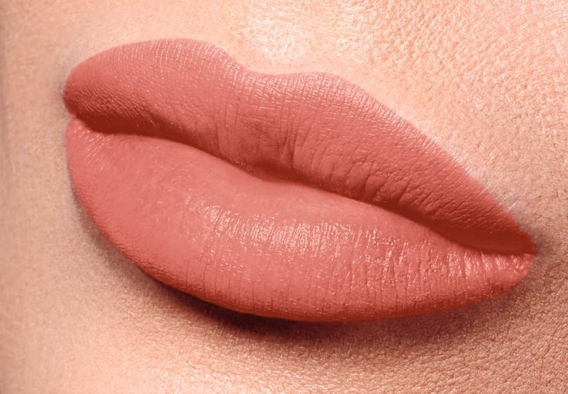 Полуматовая губная помада Velvet Kiss, тон Медово-персиковый