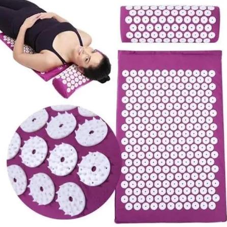 Массажный матрас коврик Beads of Nails акупунктурный массажный набор