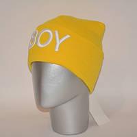 Шапка с 3D вышивкой BOY