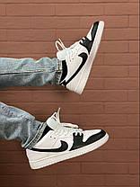 Баскетбольні кросівки Air Jordan 1 Retro Low Black/White, фото 2