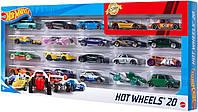Подарочный набор из 20 машинок Хот Вилс Hot Wheels Basic Multi-pack Vehicles Mattel