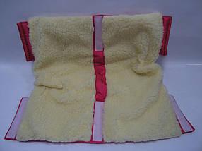 Муфта меховая для детской коляски и санок, фото 3