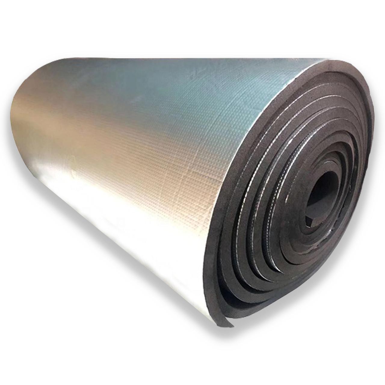 Вспененный каучук 25 мм фольгированный (утеплитель, шумоизоляция)