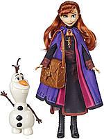 """Набір лялька Ганна і Олаф """"Холодне серце"""" E5496 від Hasbro, фото 1"""