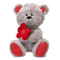 Мягкая игрушка Lava Медведь с красным цветком (LF1096)