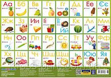 """Килимок для дитячої творчості """"Алфавіт"""", пластиковий, 38,5*27см"""