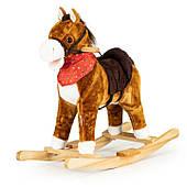 Лошадь-качалкадвижущийся хвост и звуки морды Польша