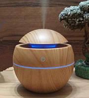 Зволожувач Повітря Air Purifier Арома Лампа з LED Підсвічуванням від USB, фото 1