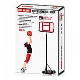 Баскетбольная мобильная передвижная стойка Net Playz YOUTH BASKETBALL HOOP (ODBN-321), фото 2