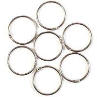 Кільця для шторок Пан Білан 12 шт металеві