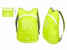 Рюкзак для спорта салатовый