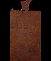 Пам'ятник на кладовищі з металу 50*103см*8мм, пам'ятник Християнство 01