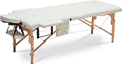 Таблиця. 2-х секційна дерев'яна масажне ліжко розміру xxl Польща