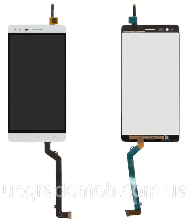 Дисплей Lenovo A7020 Vibe K5 Note A7020a40/A7020a48 Vibe K5 Note Pro тачскрин модуль белый