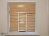 Жалюзи деревянные на пластиковые окна - Купить жалюзи с натурального дерева