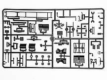 Збірна модель топлиовзаправщика УРАЛ-375Д. 1/72 ICM 72713, фото 2
