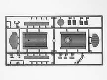 Збірна модель топлиовзаправщика УРАЛ-375Д. 1/72 ICM 72713, фото 3