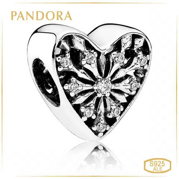 Пандора Шарм Сердце зимы Pandora 791996CZ