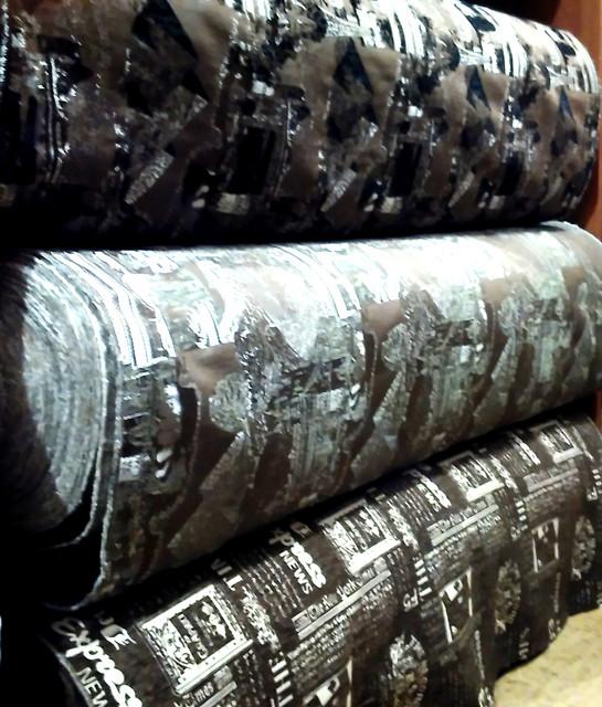 Ткани мебельные обивочные (натуральные, жаккардовые, велюровые)