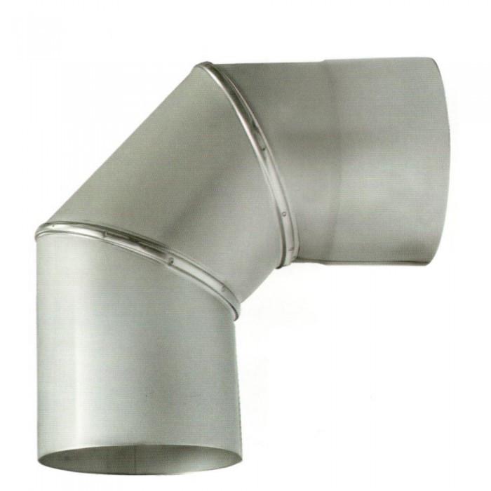 Ø160 Колено 90° нержавеющая AISI 304 сталь