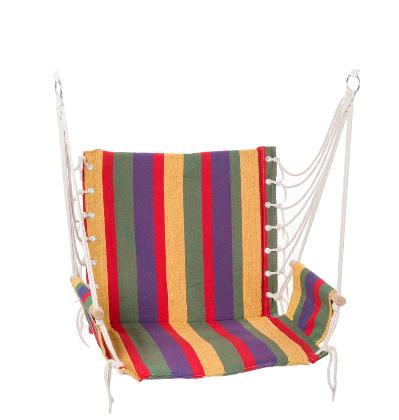 Подвесной гамак сидячий, ширина 65 см, до 100 кг, х/б, фото 2