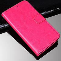 Чехол Fiji Leather для ZTE Blade V2020 книжка с визитницей розовый