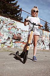 Виды самокатов: двух- и трехколесные, велосипед-самокат, с сиденьем