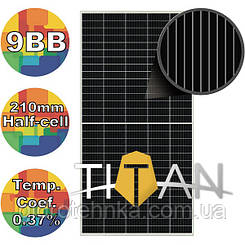Солнечная батарея 505Вт моно, RSM150-8-505M Risen 9BB 210mm, TITAN