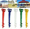 Держатель подставка для пляжного зонта Бур 39см, фото 6