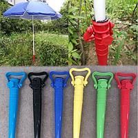 Тримач підставка для пляжного парасольки Бур 39див