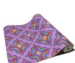 Коврик 5 мм для йоги и фитнеса, аэробики, цвета в наличии. + Подарок чехол, фото 3