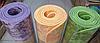 Коврик для йоги и фитнеса Yaga Mat мрамор 6 мм, салатовый + Подарок чехол, фото 4