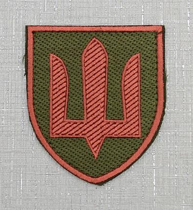 "Шеврон ""Медична служба ЗСУ"" на липучке, фото 2"