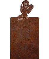 Пам'ятник на кладовищі з металу 50*103см*8мм, пам'ятник Християнство 03
