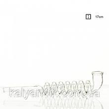 Трубка стеклянная Kawum Spiral- L:17cm