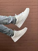 Баскетбольні кросівки Air Jordan 1 Retro Low White, фото 2