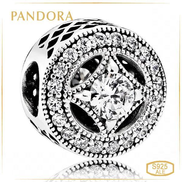 """Пандора Шарм """"Винтажное очарование"""" Pandora 791970CZ"""