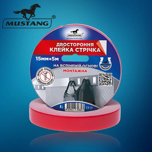 Двухсторонний скотч на вспененной основе Mustang FTМО152 130*15*2