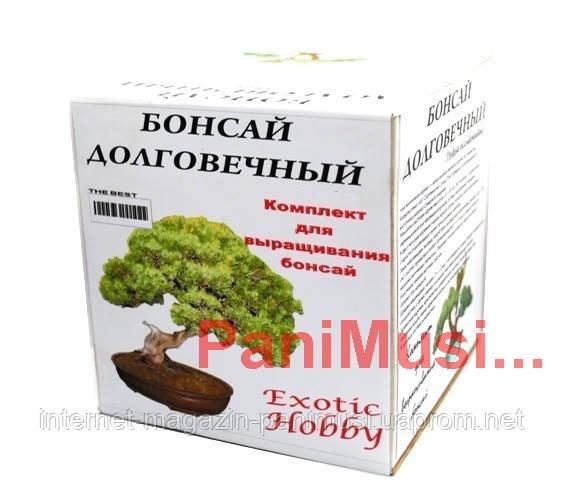 Комплект для выращивания бонсай Семена, Инструкция, Минипарник полный набор