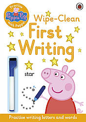 Practise with Peppa: Wipe-Clean First Writing