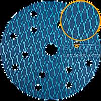 Шліфувальний круг 150 мм на липучці, 15 отворів, наждачка для шліфмашини