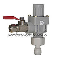 Регулятор давления Aquafilter ADV-REG_K с шаровым краном