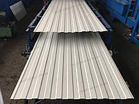 Металлопрофиль белый глянцевый стеновой, профлист Ral 9003 Сигнальный белый на забор, профнастил белый, фото 1