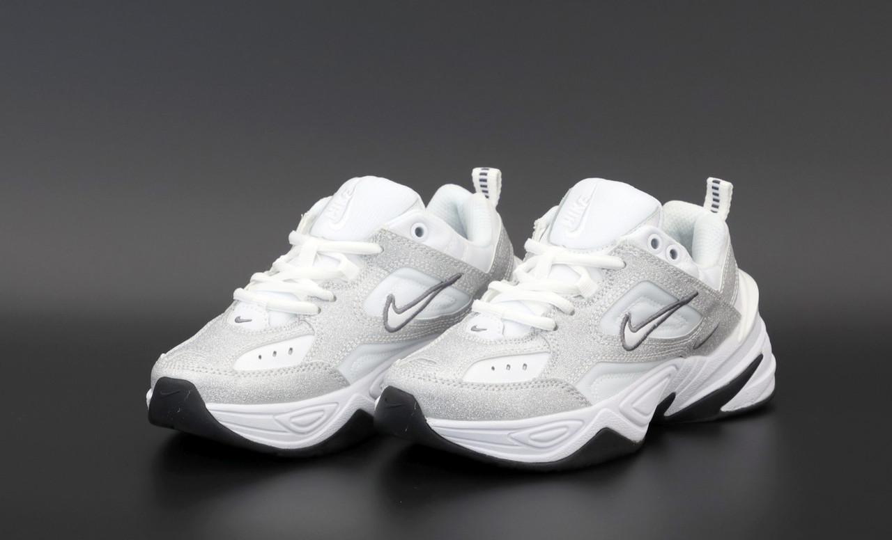 Жіночі сірі Кросівки Nike M2K Tekno